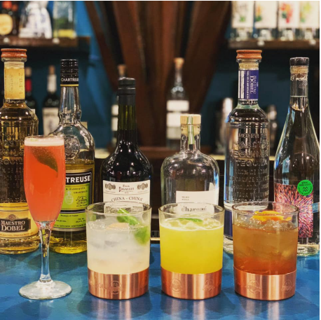 Feeling that flight of the moment? Jump in and try tequilas from La Margarita