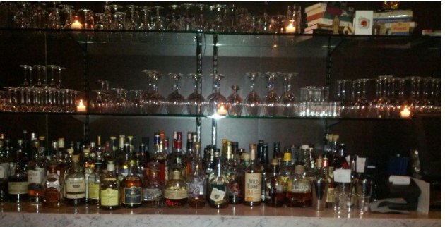 Grab a drink and relax at Marvel Bar. Photo by Adam R