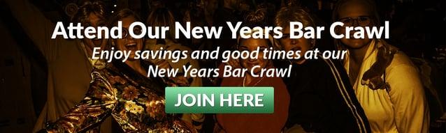 new years bar crawl