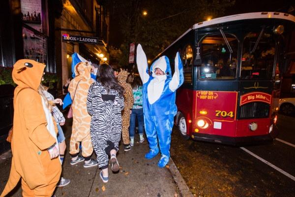 trolley-halloween-shark-on-street-good