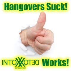 Hangovers SUCK! Intox Detox Helps. See How.