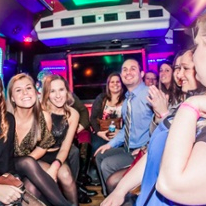 2018 NYE Rolling In Limo Style