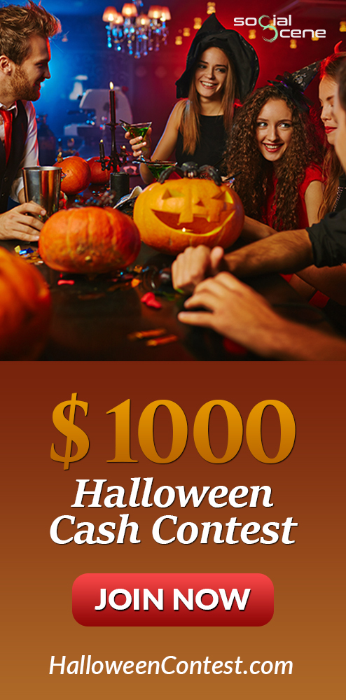 $1000 Halloween Cash Contest