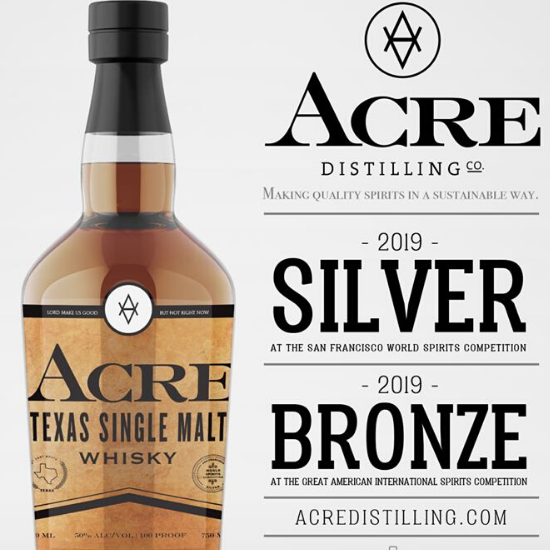 Whiskey (Whisky) Tasting Notes: Featuring Acre Distilling