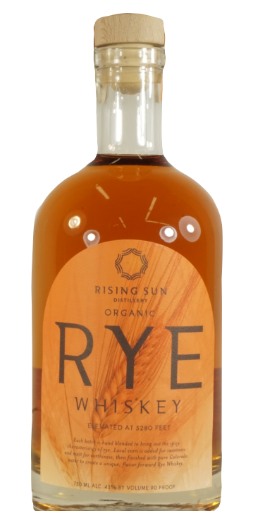 Rising -Sun-Distillery-Organic-Rye-Whiskey-Denver